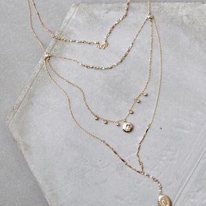 New American Eagle locket necklace